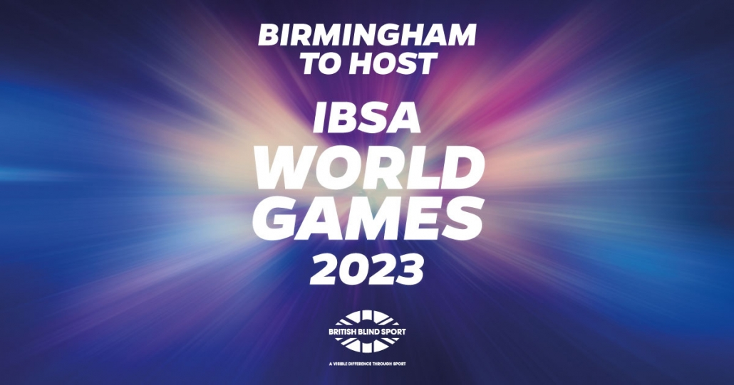 TRIO OF FOOTBALL WORLD CHAMPIONSHIPS HEADING TO BIRMINGHAM 2023 IBSA WORLD GAMES