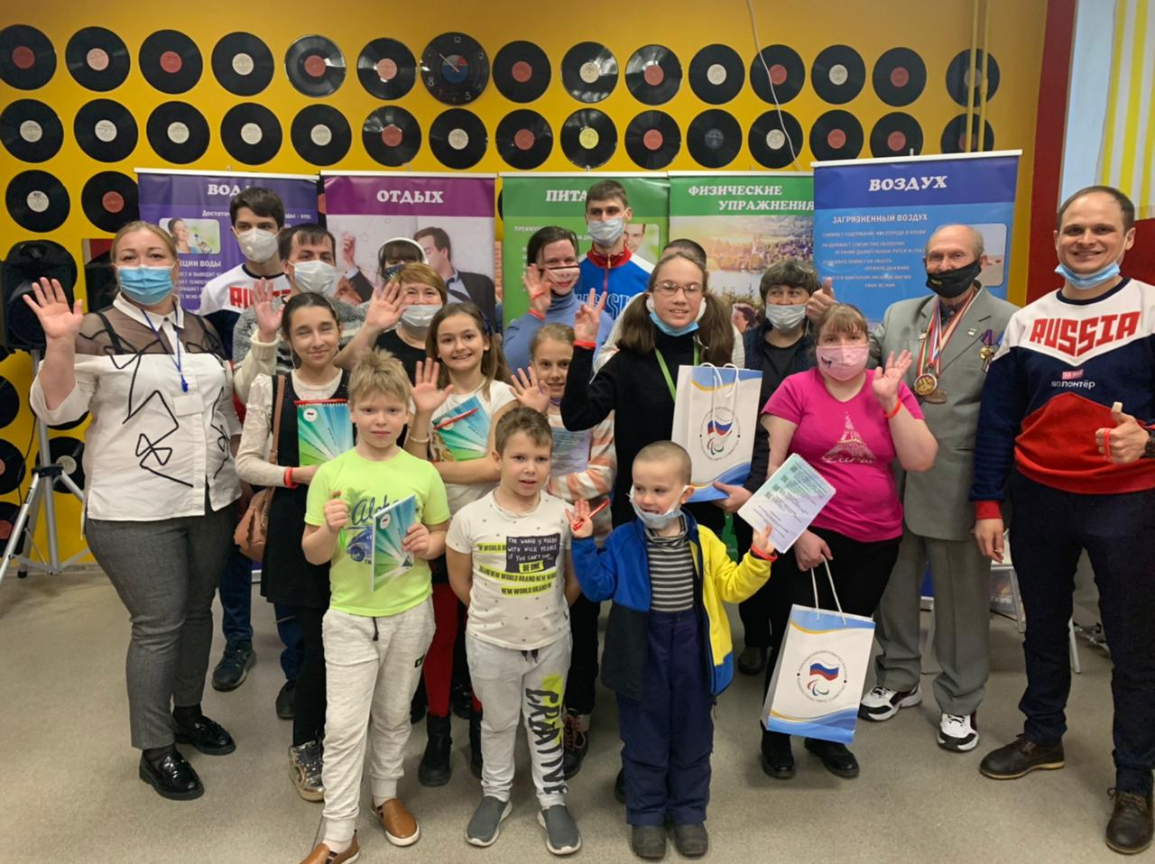 "MULTIPLE PRIZE WINNER OF WORLD TABLE TENNIS FOR FACES WITH PHYSICAL IMPAIRMENTS Y. NOZDRUNOV TOOK PART IN THE MEETING ""AN INPRESSIBLE GIFT OF HEALTH"" WITH CHILDREN WITH HEALTH LIMITATIONS, ASSOCIATED WITH THE INTERNATIONAL DAY OF HEALTH"