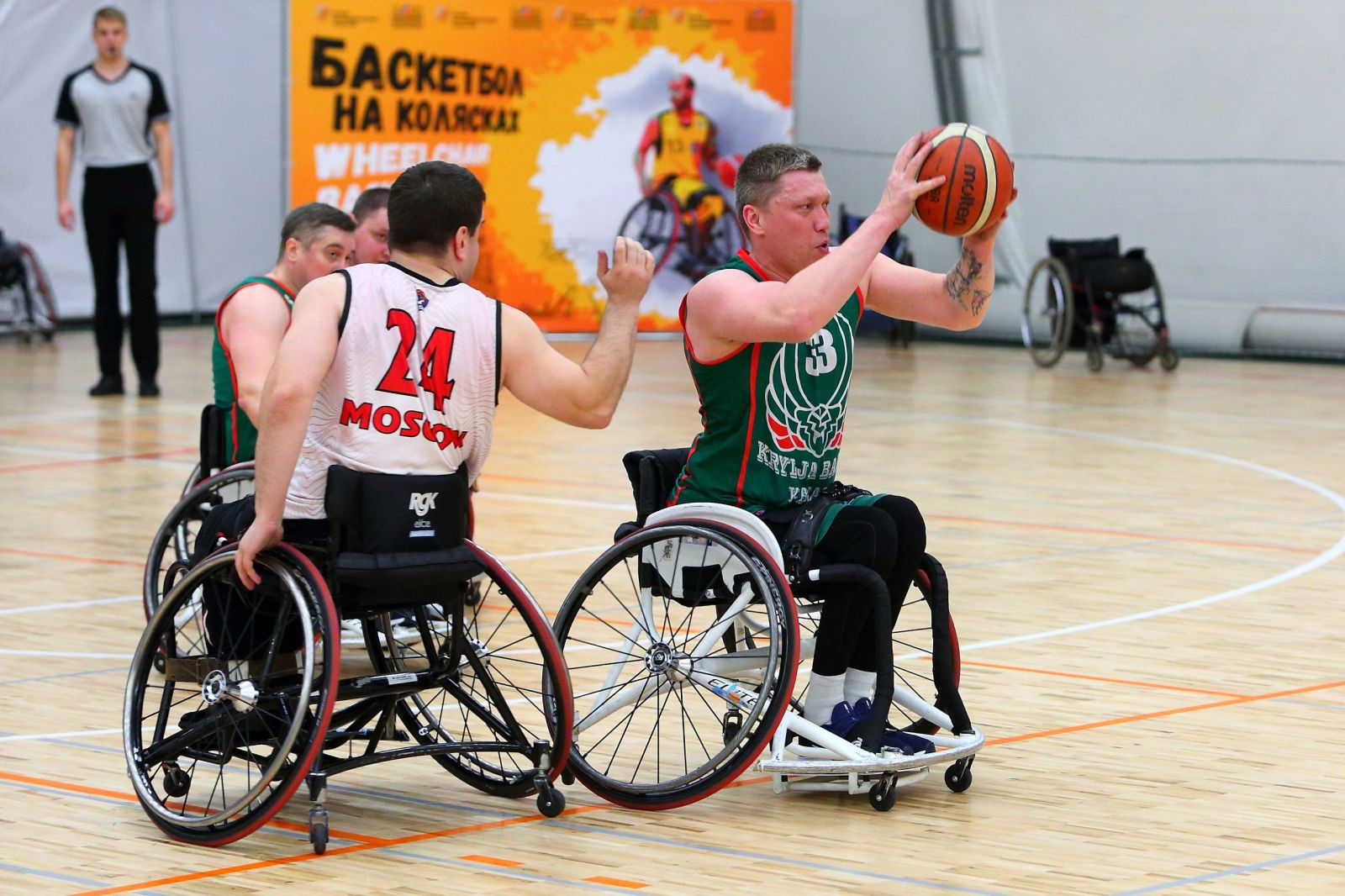 TWELVE TEAMS TOOK PART IN THE FIRST ROUND OF THE RUSSIAN WHEELCHAIR BASKETBALL CHAMPIONSHIP AT PARAMONOVO ISBK
