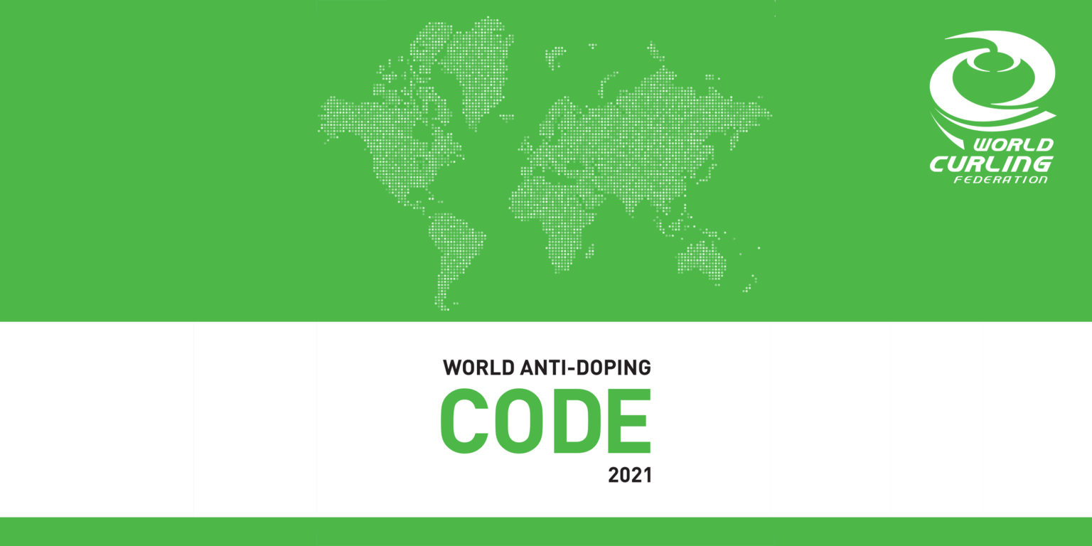 World Curling announce new Anti-Doping Rules for 2021