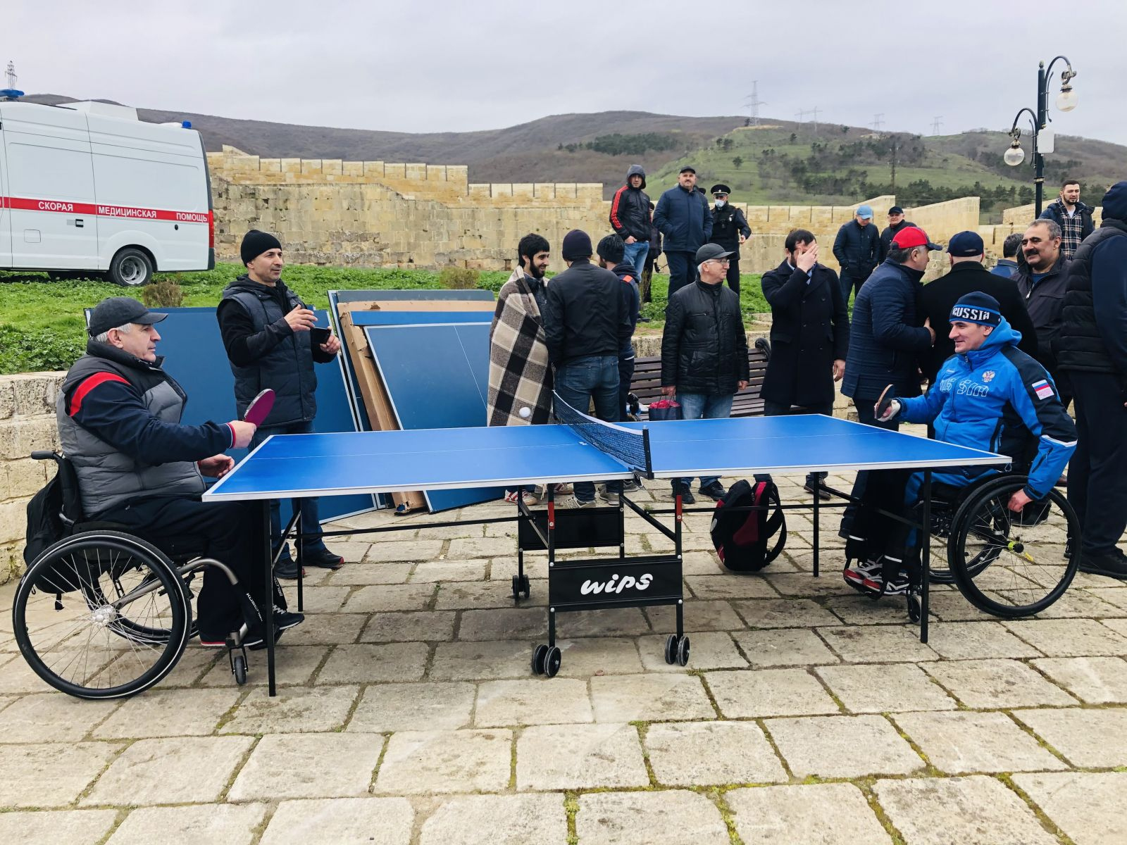 THE REPUBLICAN WORLD TABLE TENNIS FESTIVAL WAS HELD IN DERBENT IN THE NARYN-KALA FORTRESS
