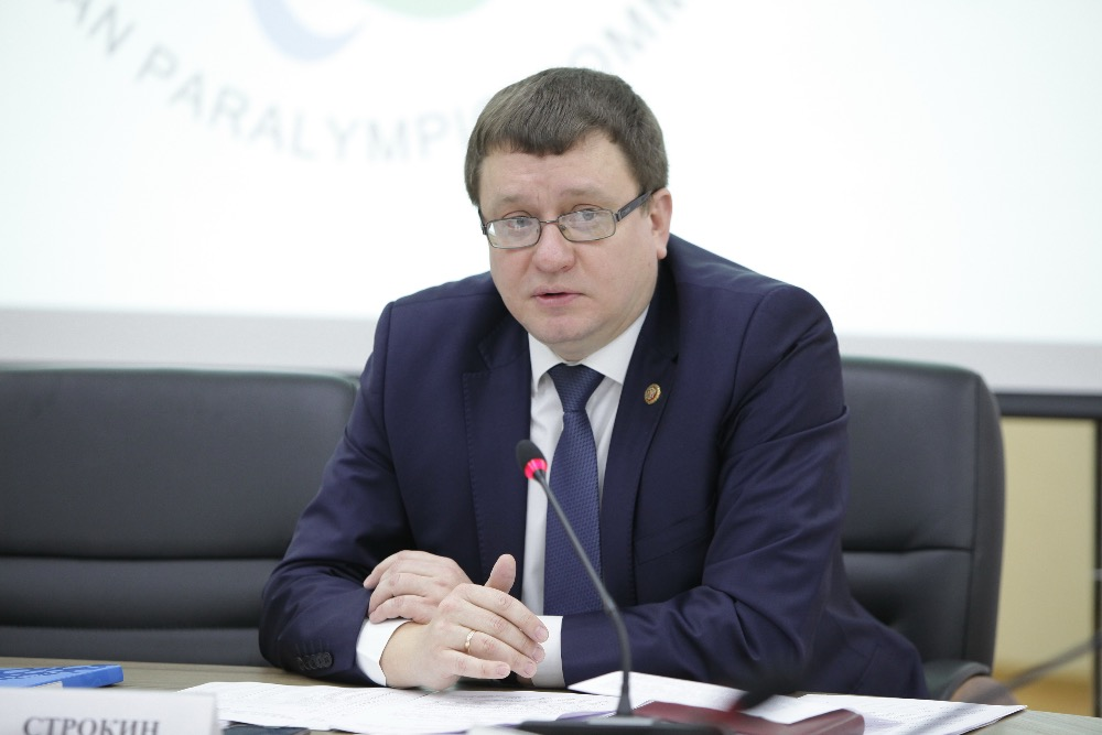 SECRETARY GENERAL OF RPC, 5-TIME PARALYMPIC GAMES CHAMPION ANDREY STROKIN TOOK PART IN THE MEETING OF THE PUBLIC COUNCIL OF THE MINISTRY OF SPORT OF THE RUSSIAN FEDERATION
